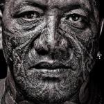 Татуировки на лице.  тату_история@philosophy_tattoo.