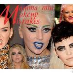 Осторожно, окрашено! Худший макияж звезд – 2013.