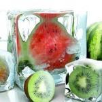 Новые, очень интересные рецепты косметического льда.