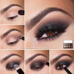 Классический дымчатый макияж Smokey Eye: