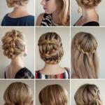 Оригинальные варианты с косами для обладательниц густых и пышных волос.
