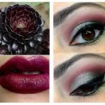 Яркий макияж для кареглазых красавиц, который подчеркнет красоту глаз.