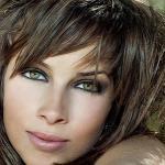 Красивый макияж для зеленых глаз.