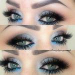 Такой макияж называют дымчатым, потому что он позволяет сделать глаза предельно выразительными, а взгляд мечтательным.