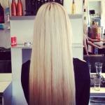 Ламинирование волос на дому.