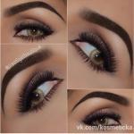 Классика (черный, темно-серый, светлый беж) идеален для серых и серо-голубых глаз при любом цвете волос, -?