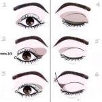 Новую форму глаз можно откорректировать и приблизить к русскому идеалу с хорошей помощью правильного макияжа глаз.