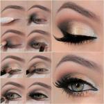 Цвет.  * Обладательницам небольших глубоко посаженных глаз лучше остановить свой выбор на чистых светлых оттенках - голубом, зеленом, сиреневом.