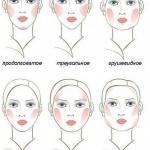 Как правильно сделать макияж по форме лица.