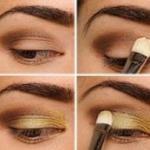 Как правильно наносить макияж на глаза?