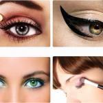 Как красиво красить глаза тенями.