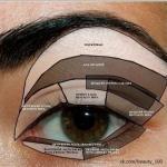 Как правильно наносить тени на глаза?