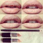 Как сделать макияж с эффектом пухлых губ?