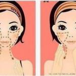 Как похудеть в области лица: массаж цоган.
