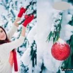 Идеи для зимней фотосессии. Настала зима и выпал снежок, погода прекрасная.