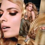 Золотой макияж. Золотой макияж – модный тренд сезона.