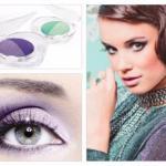 Фиолетовые тени используются как в дневном, так и в вечернем макияже, но при нанесении данного оттенка нужно быть очень аккуратной.