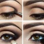 Макияж для брюнеток и цвет глаз.