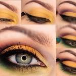 Очень красивый макияж для серых глаз!