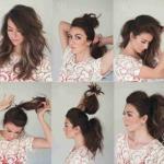 Кажется, что хвост визуально укорачивает длину волос, но посмотрите как можно создать обратный эффект.