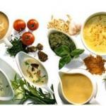 10 вариантов домашних соусов.